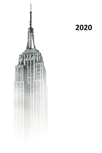 2020: Best time to visit the empire state building Nifty Planner Calendar Organizer Daily Weekly Monthly Student for planning special things to do in new york (Best Time To Travel East Coast Australia)