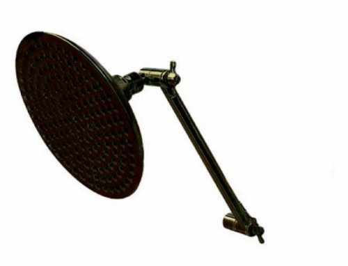 Kingston Brass K136K5 Designer Trimscape Victorian Shower Head with Adjustable Shower Arm, Oil Rubbed Bronze