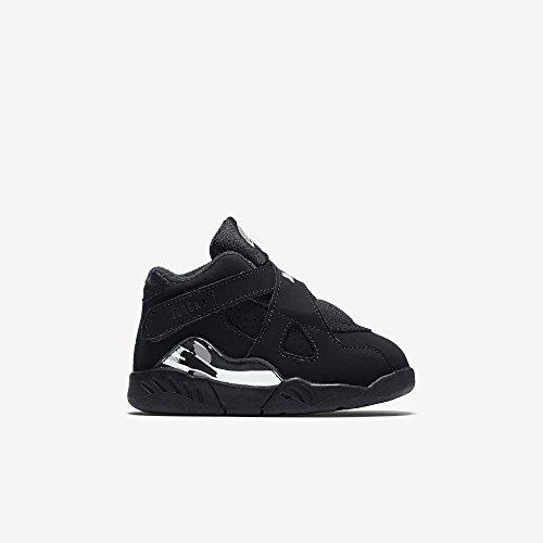 Jordan 8 Retro Black/White-Light Graphite Size 3 M US Toddler (Shoes Baby Girls Jordan)