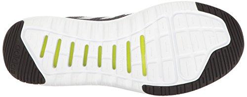 Adidas Neo Mens Cloudfoam Super Flex Löparsko Svart / Vit / Onix
