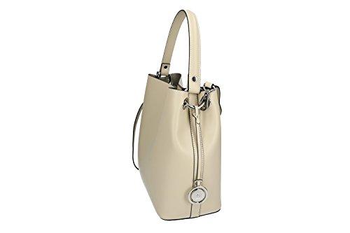 e976235e4d322 Tasche damen von Hand PIERRE CARDIN beige leder Made in Italy VN1086 ...