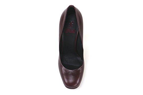 Tribunali Donna Eu Shoes Fabi 36 Bordeaux Pelle Ak784 In Eq5ndCnw8