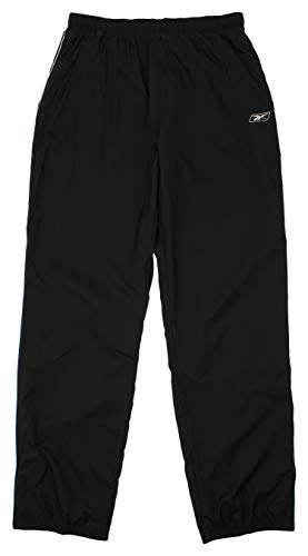 (Reebok Warm-Up Practice Pants, Black,)