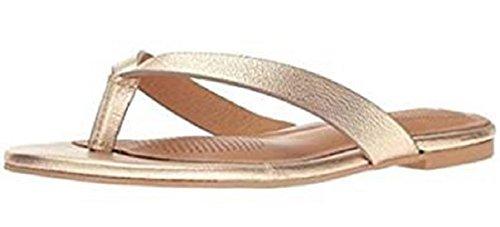 Como CC Corso Volley Viola Flip Flop Sandals Gold Size 7
