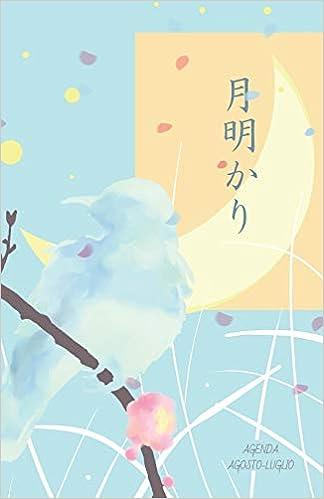 Amazon.com: Agenda Agosto-Luglio: Tsukiakari (chiaro di luna ...