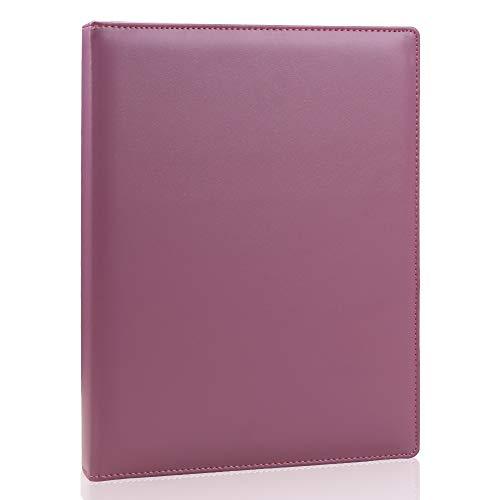 KINGFOM Leather Padfolio Business Document