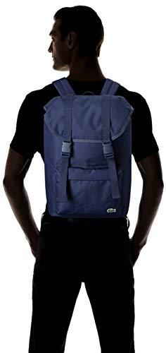 Lacoste Men's Neocroc Flap Backpack, Peacoat, 00 by Lacoste (Image #4)