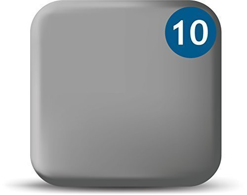 Price comparison product image WebCam Cover Silver - 10 Pack - Macbook and Tablet Webcam Covers