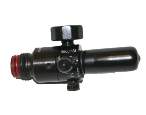 Ninja 4500 PSI STD HPA Regulator for High Pressure Air Nitrogen Paintball (Hpa Tank Regulator)