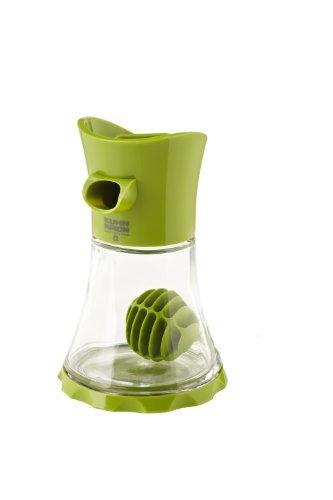 Kuhn Rikon Vase Whisk Glass, 5-1/2-Inch, Green (Rikon Kuhn Cruet)