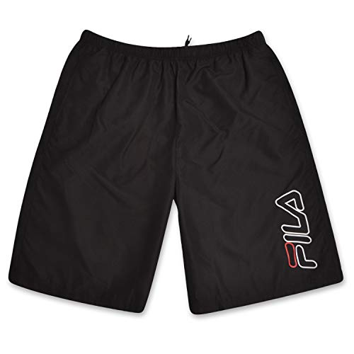 - Fila Mens Big and Tall Nylon Athletic Shorts with Adjustable Drawstring Waistband Black