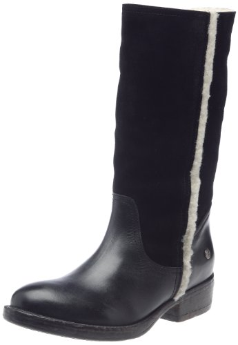 Blink BLL012-101758-A1 - Botas planas, color: Marrón Negro