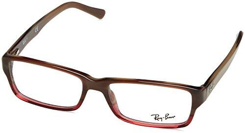 Ray-Ban Vista RX5169 5541 Eyeglasses Brown Horn Grad Trasp - 5169 Rayban