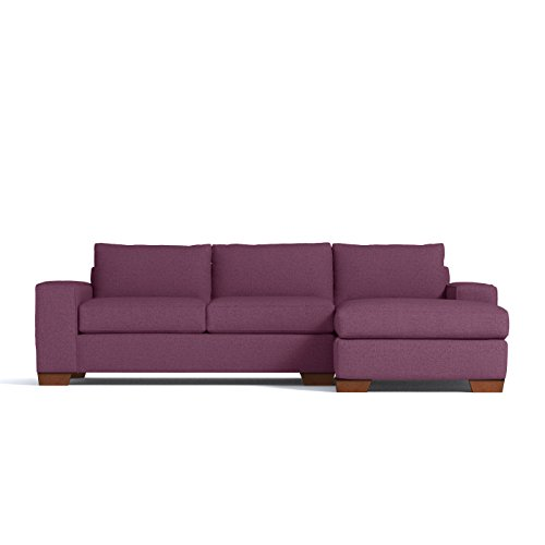 Melrose 2pc Sectional Sofa, Amethyst