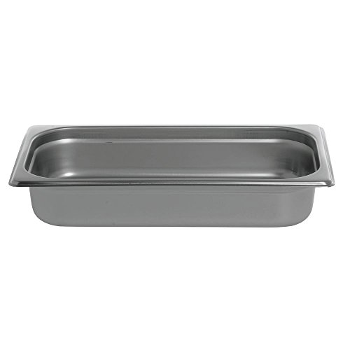 HUBERT Steam Table Pan 1/3 Size 22 Gauge Stainless Steel - 2 1/2''D by Hubert