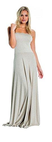 An Elan Usa Gorgeous Convertible Stapless Dress/Skirt with Necklace (MDH500) (Medium)