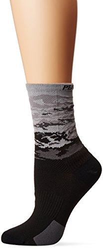 Pearl iZUMi Women's Elite Tall Socks, Smoked Pearl Vista, Small