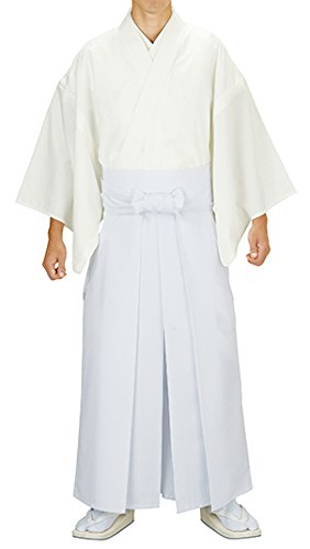 眼荒れ地マオリ神寺用衣裳 神官用白衣 白 冬用 レディース 洗える着物