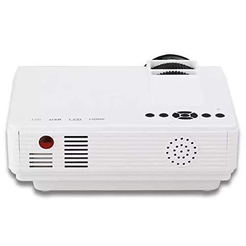 Proyector HD con brillo 1000Lux LED, tamaño de la proyección de ...