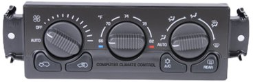 ACDelco 15-72979 GM Original Equipment Heating and Air Conditioning Control Panel with Rear Window Defogger Switch