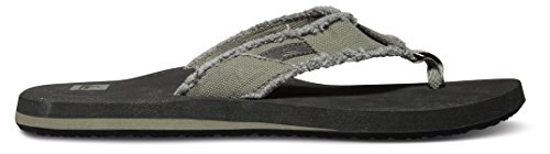 Pictures of Quiksilver Men's Monkey Abyss Three-Point Sandal 12 M US 3