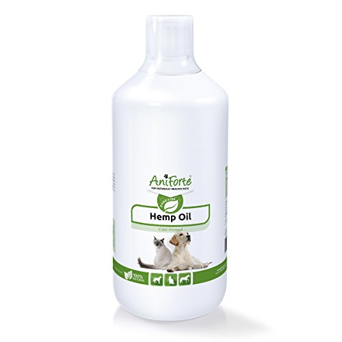 Hemp Oil for Dogs, Cats and Horses 1L by AniForte | #1 Joint Supplement in...