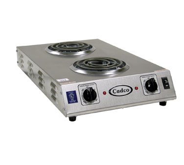 Countertop Electric Range - (2) 6 inch Burners 1650 Watts 1 Each