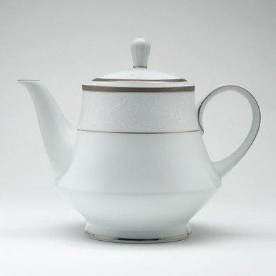 Noritake Regina Platinum Tea Pot