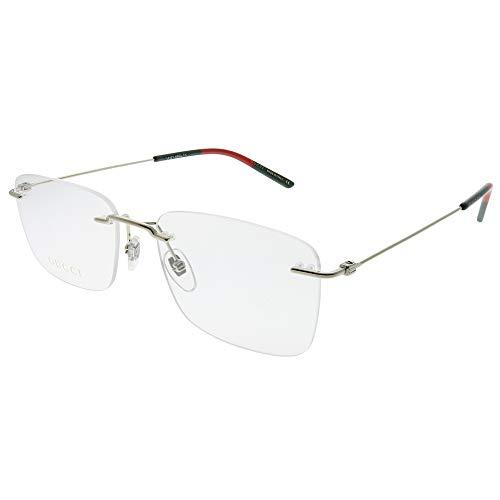 Gucci GG 0399O 004 Gold Metal Rimless Eyeglasses ()