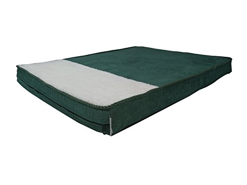 Dog Bed Cover Replacement, Self-Warm Dog Bed Cover, Self-Heating Dog Bed Cover, DIY Durable Microsuede Pet Bed External Duvet Cover and Waterproof Base for Medium to Extra Large Dog - Covers only