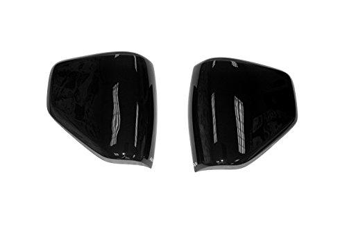 Auto Ventshade 37455 Dark Smoke Headlight Covers for 2015-2018 Dodge Challenger