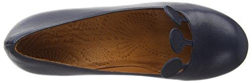 Chie Mihara hove - zapatos de tacón cerrados de cuero mujer azul - Blau (taichi marino)