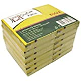Bloco Adesivo Stick On-It 38, 1 x 50, 8mm 100 Folhas, Eagle, 356 291.6601, Amarelo, pacote de 24