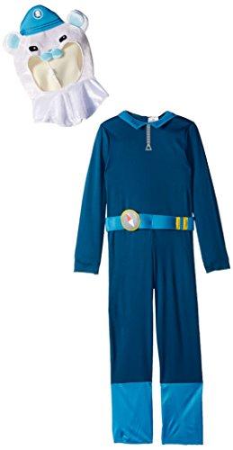 Captain Barnacles Classic Octonauts Silvergate Media Costume, (Octonauts Costumes)