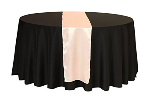 Marvelous Your Chair Covers   14 X 108 Inch Satin Table Runners Blush, Table Runner  For Weddings, Events, Hotels And Catering Services Pictures