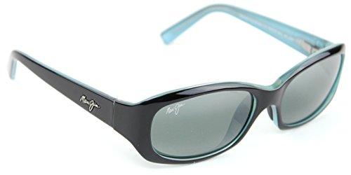 Maui Jim CASTLES Polarized Metal Unisex Sunglasses (Satin Gunmetal Frame, Maui Rose Lens - Maui Jim Castles