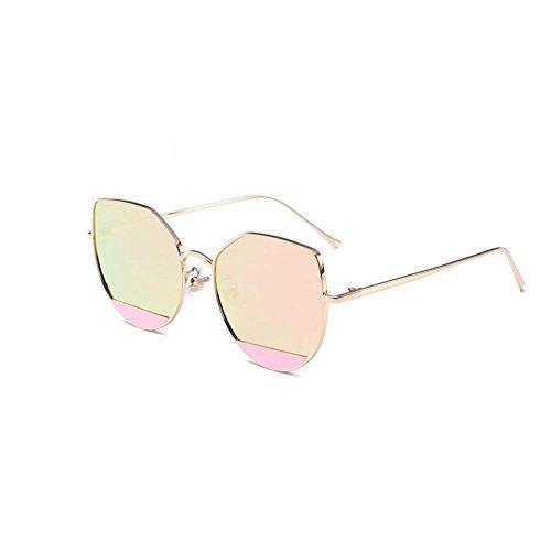 soleil haute de lunettes chat de E NIFG 140 réfléchissantes de oeil de multicolore européenne et soleil qualité personnalité 55mm Lunettes américaine 147 de qOO6E0