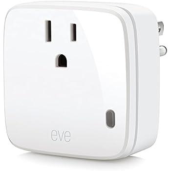 Elgato Eve Energy - Switch & Power Meter with Apple HomeKit technology, Bluetooth Low Energy