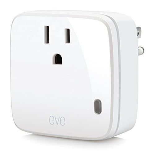 Elgato Eve Energy - Wireless Switch & Power Meter with Apple HomeKit technology, Bluetooth Low Energy