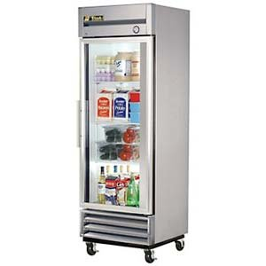 True T-Series Right Hinged Glass Door Refrigerator, 19 Cubic Ft