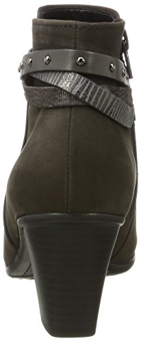 Gabor Ladies Basic Boots Grey (19 Anthracite Combi)