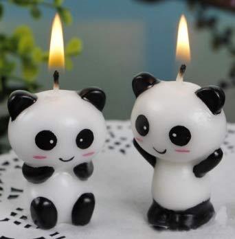 Amazon.com: Taka Co Panda Party Supplies - Juego de 2 velas ...