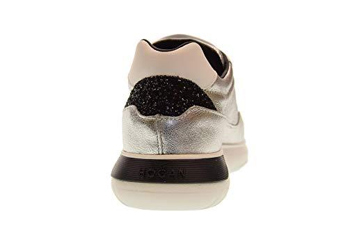INTERACTIVE3 Baskets Femme Chaussures Argent H371 Basses Noir HXW3710AP20JI7303C Hogan xRqwYgZx