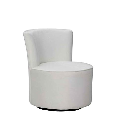 Amazon.com: Blackjack Furniture A41-WHITE-CH Leena Modern ...