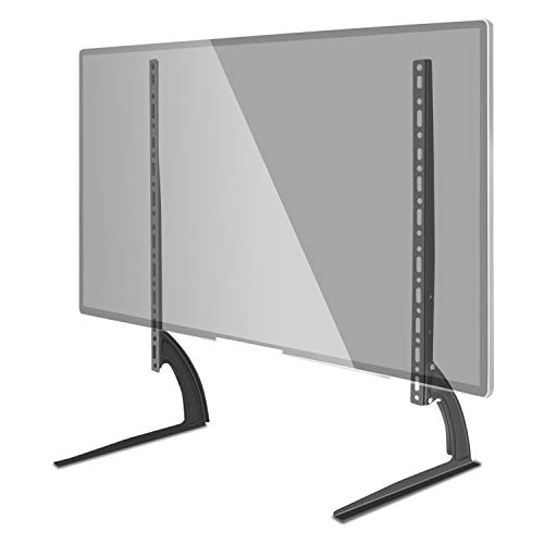 Futurebatt Universal LCD Flat Screen TV Mount Table Top VESA up to 800 x 400mm Stand Black | Base for 22 to 65 inch, fits 32 40 55 65 inch TV ()