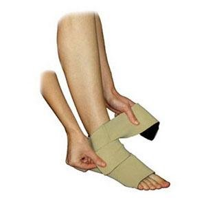 DSS Juxta-Lite Standard Legging with Anklet Foot Wrap Medium Long, 33cm L, Beige by Circaid/Medi