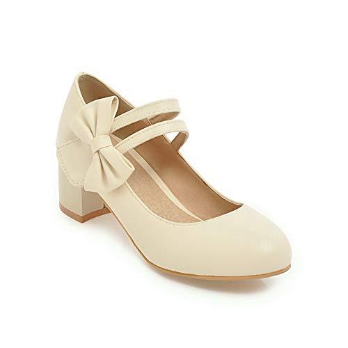 EU Sandales Femme Beige AdeeSu 5 36 Beige SDC05655 Compensées RwWqpF