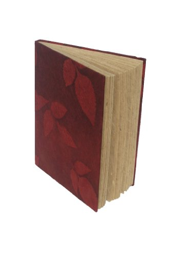 - Red Rice Paper Notebook