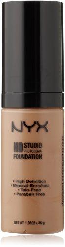 NYX Cosmetics Haute Définition Fondation photogénique, Californie Tan, 1,26 once
