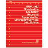 NFPA 1983: Standard on Life Safety Rope and Equipment for Emergency Services, 2012 Edition